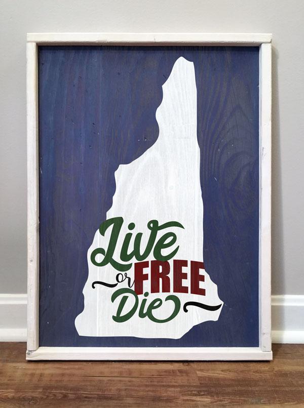 Live Free Or Die, NH State