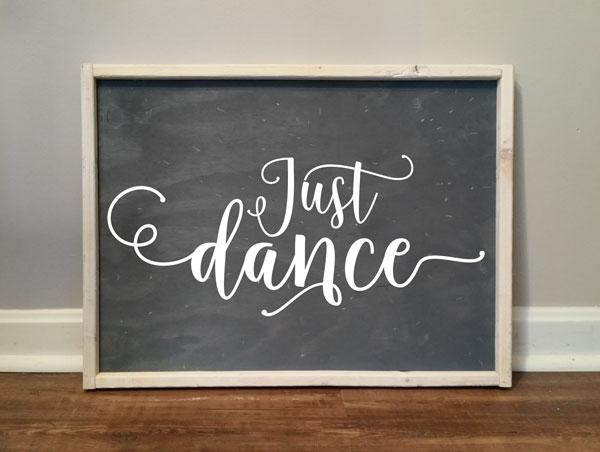 Just Dance Typography #1