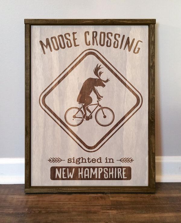 Moose Crossing, NH