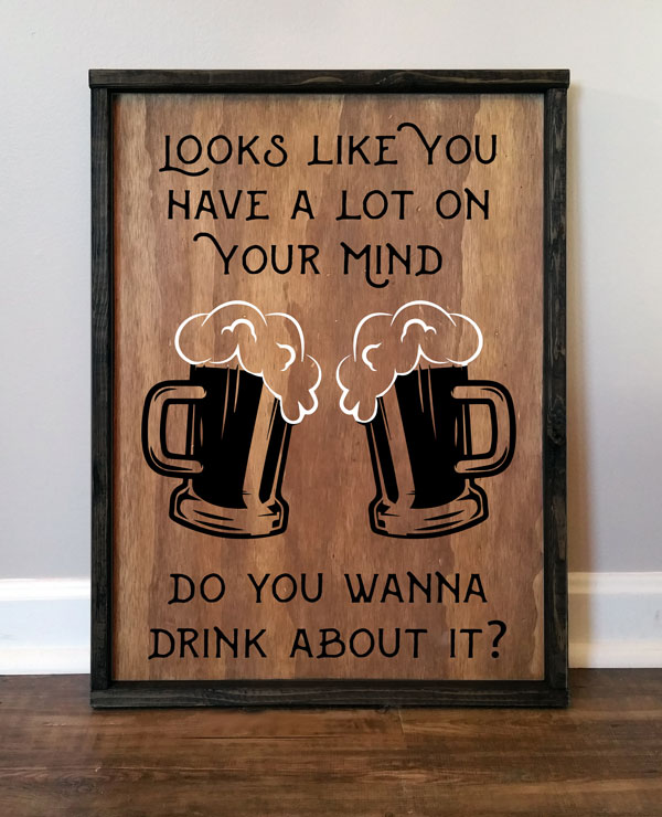 Do You Want to Drink About It, Beer