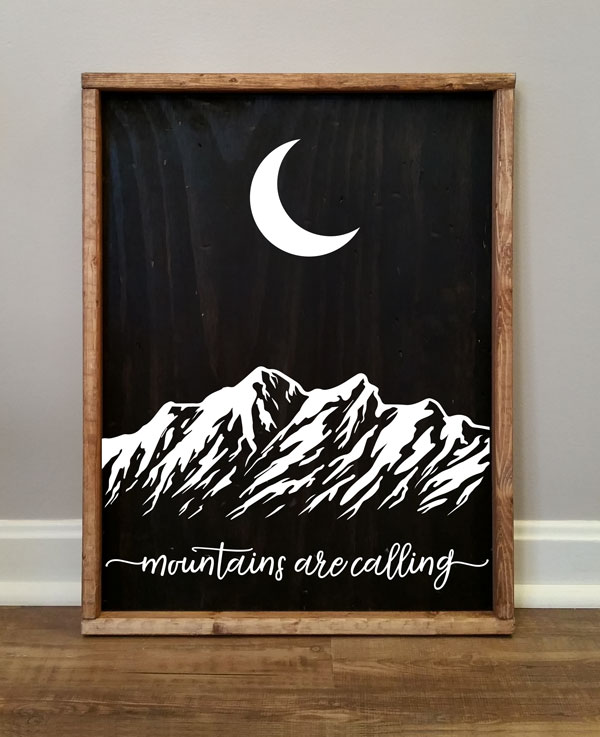 Mountains Are Calling, Moon