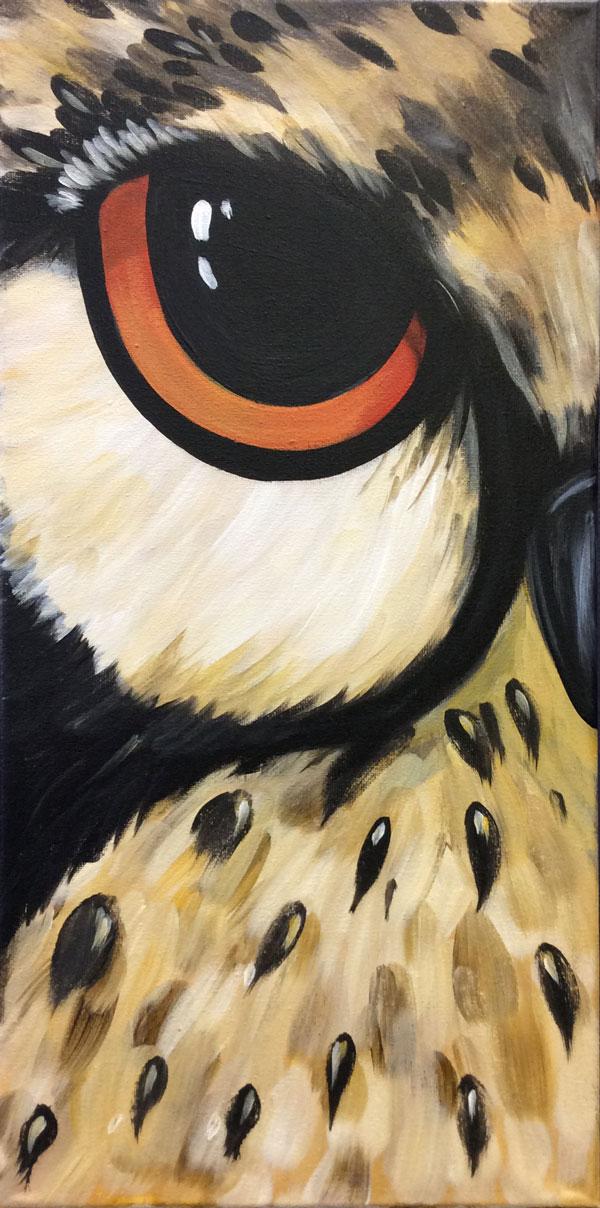 """Eye Of Wisdom 10 x 20"""""""