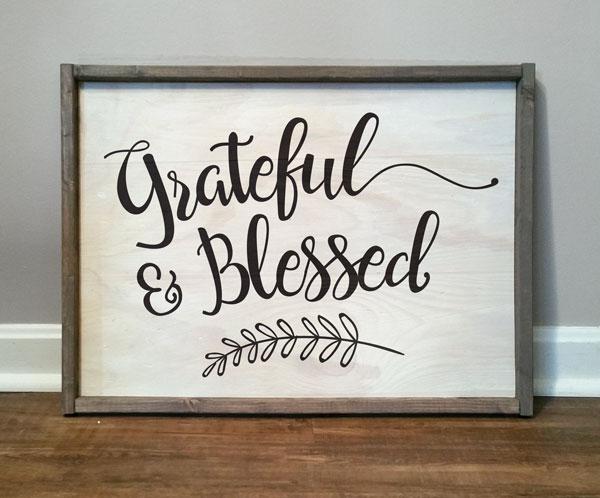 Grateful & Blessed #1