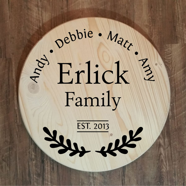 Erlick Round Tray or Lazy Susan