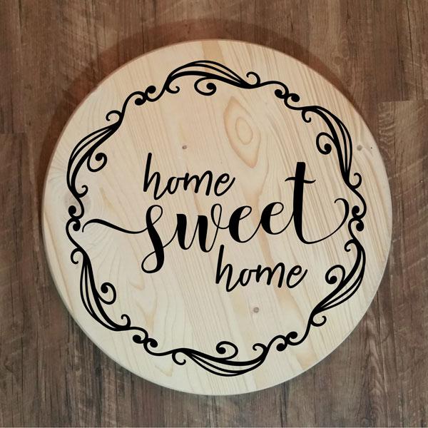 Home Sweet Home Florish