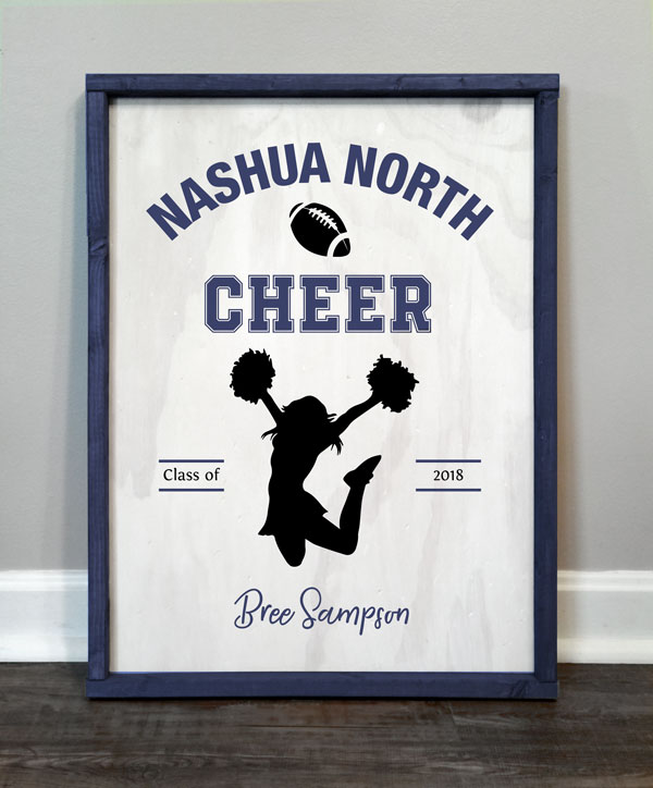 School Cheerleader, Personalized