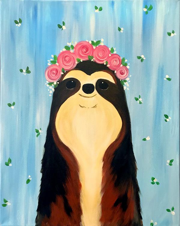 Happy Sloth, Girl