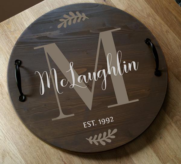 McLaughlin Round Tray