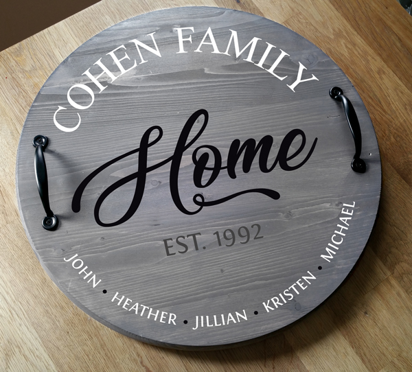 Cohen Round Tray or Lazy Susan