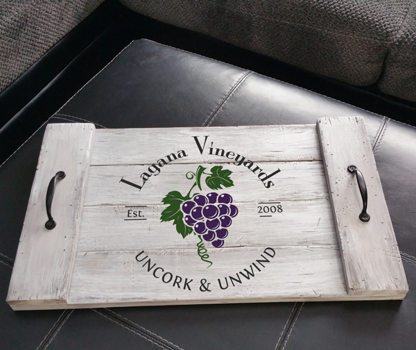 Lagana Vineyards 14 x 24 Tray