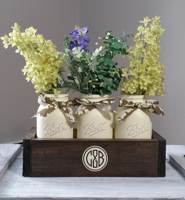 C&B, Mason Jar Box