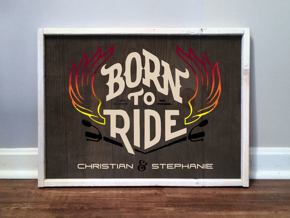 Born To Ride, Flames, Names