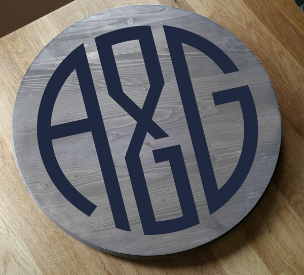 A&G Round Tray or Lazy Susan