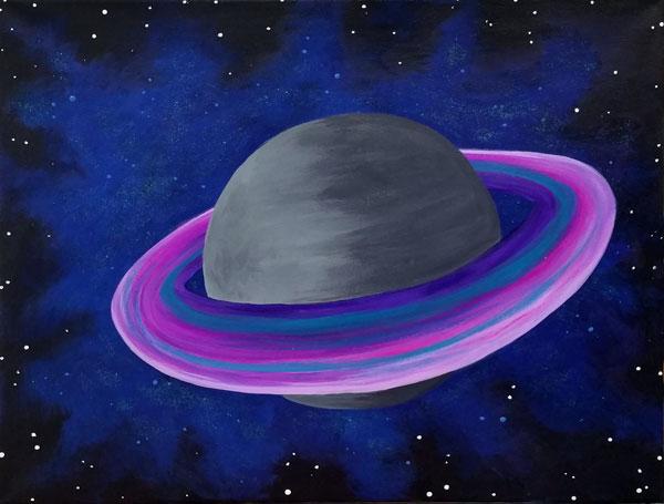 Pink Saturn