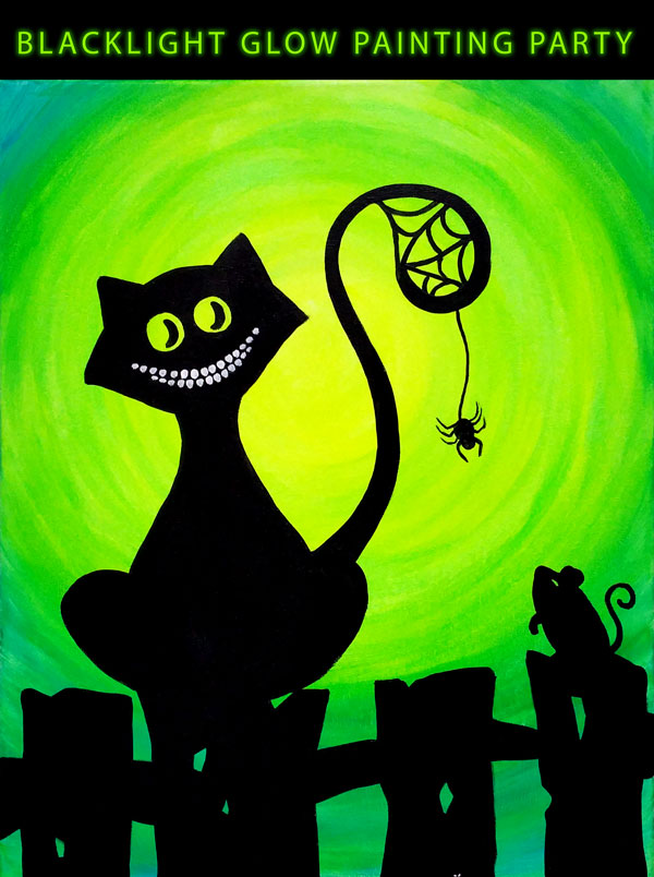 Glow Spider Cat