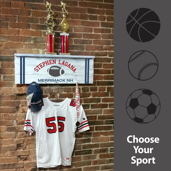 Sports Option Trophy Shelf