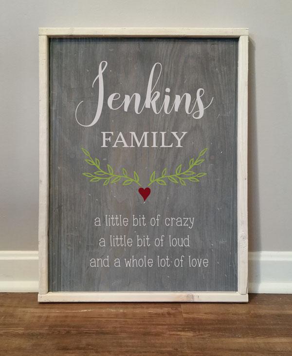 Jenkins Family, Little bit of Crazy