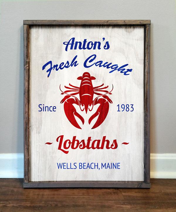 Fresh Caught Lobstahs