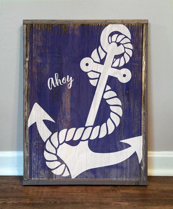 Anchor, Ahoy