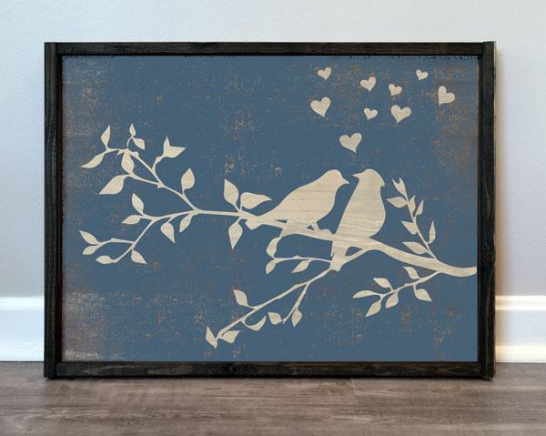 Love Birds & Hearts