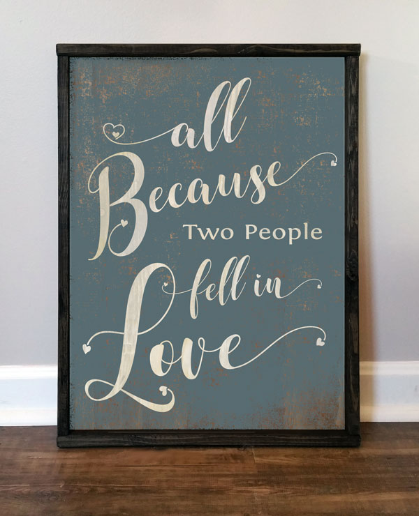 All Because Two People