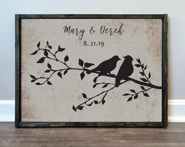 Love Birds & Names