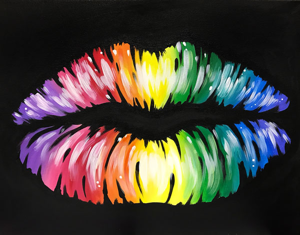 Rainbow Kisses