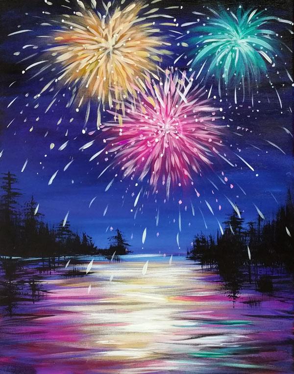 Lakeside Fireworks