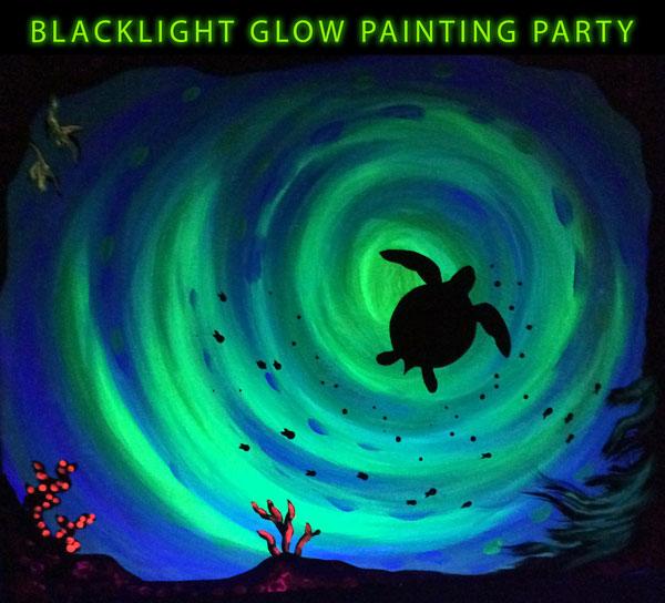Glow Sea Turtle