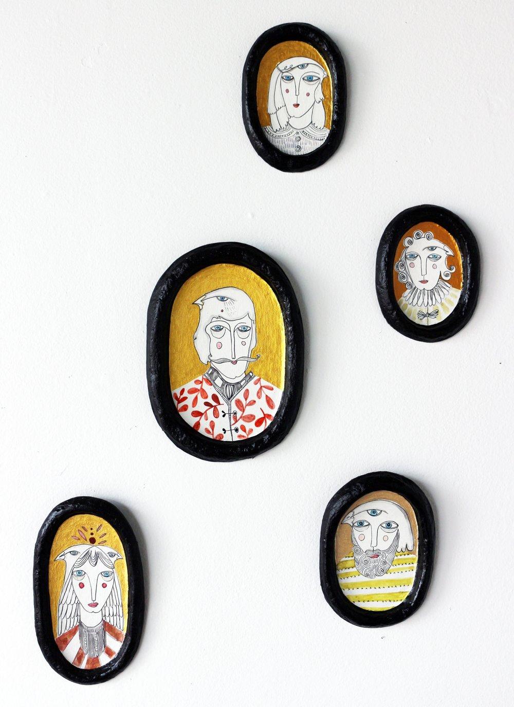 Birdman Family Portraits