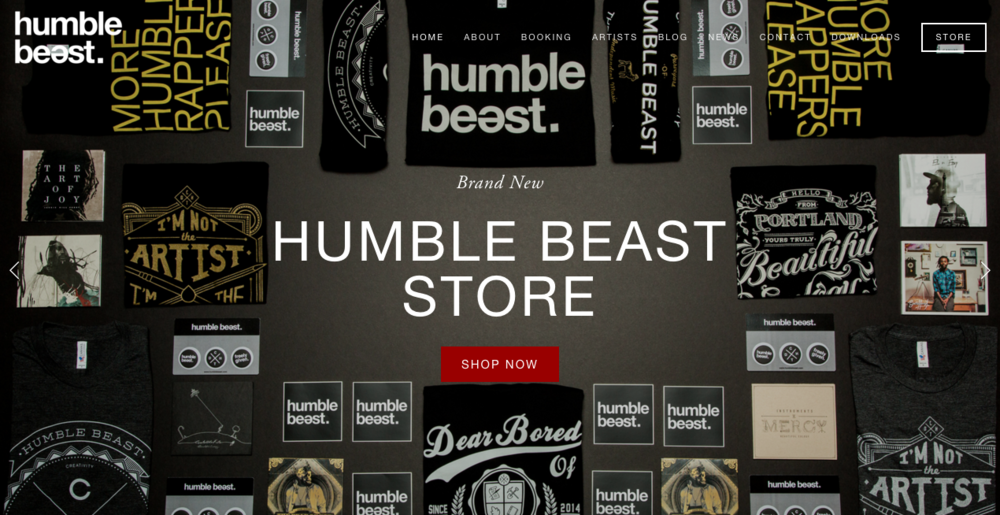 ECOM Shot For Humblebeast