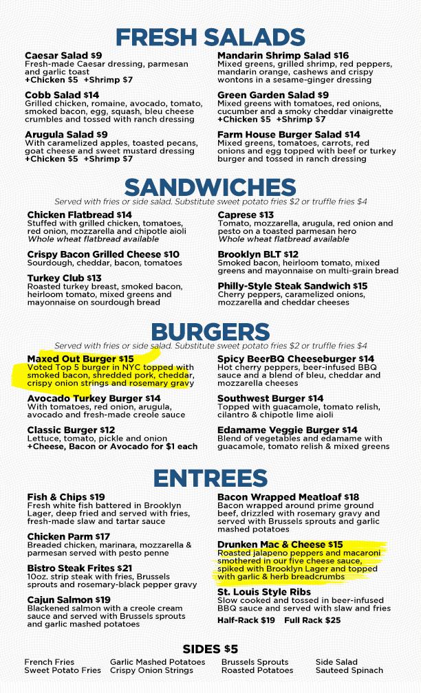 midtown  burgers