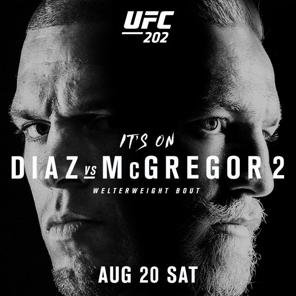 watch ufc 202 nyc bars showing mcgregor