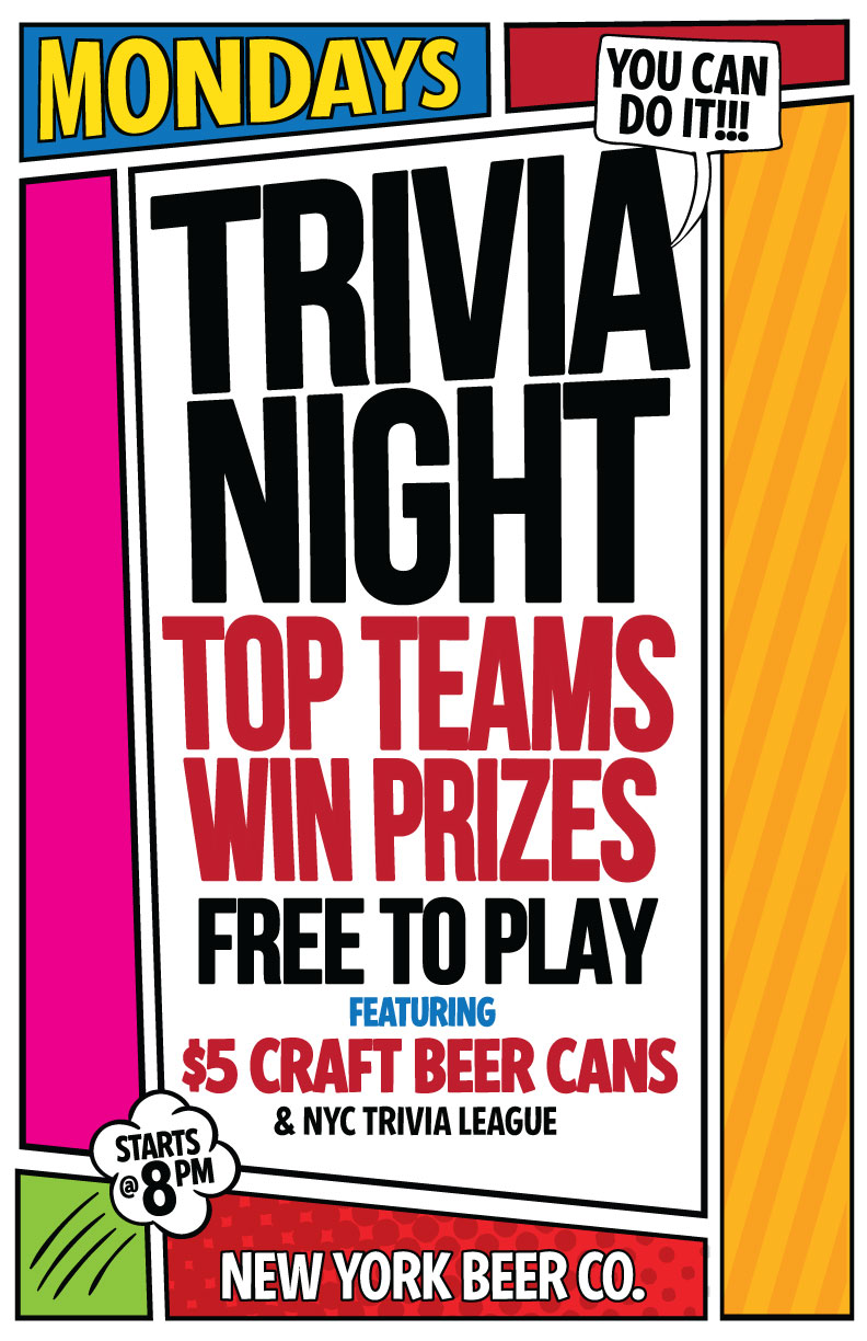 Midtown NYC trivia night