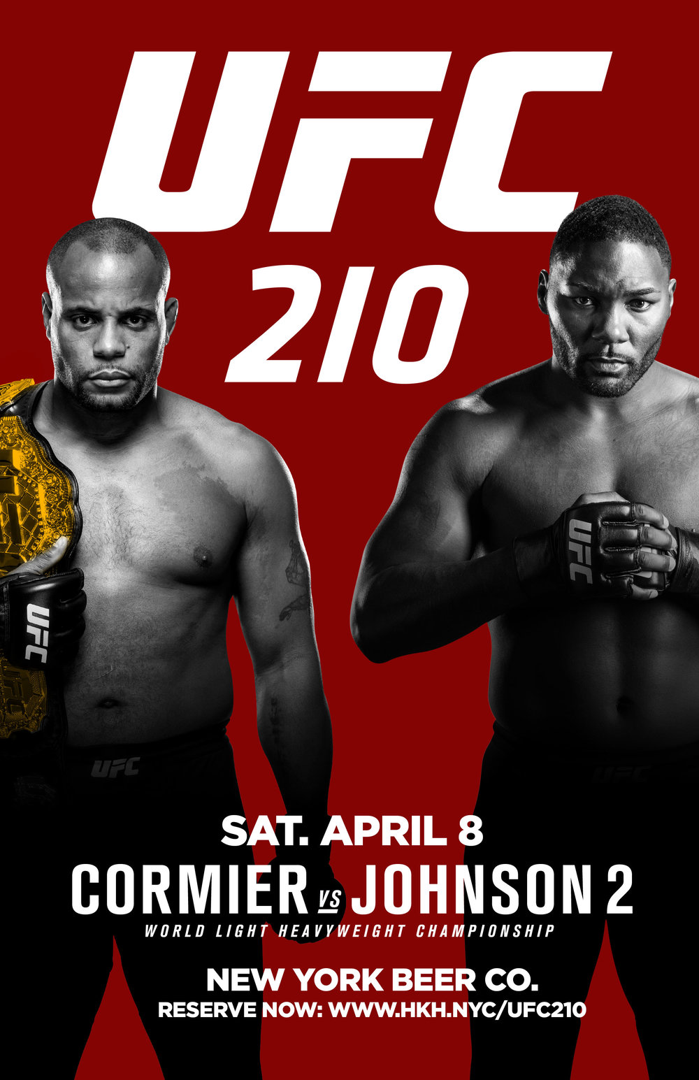 Watch UFC 210 NYC