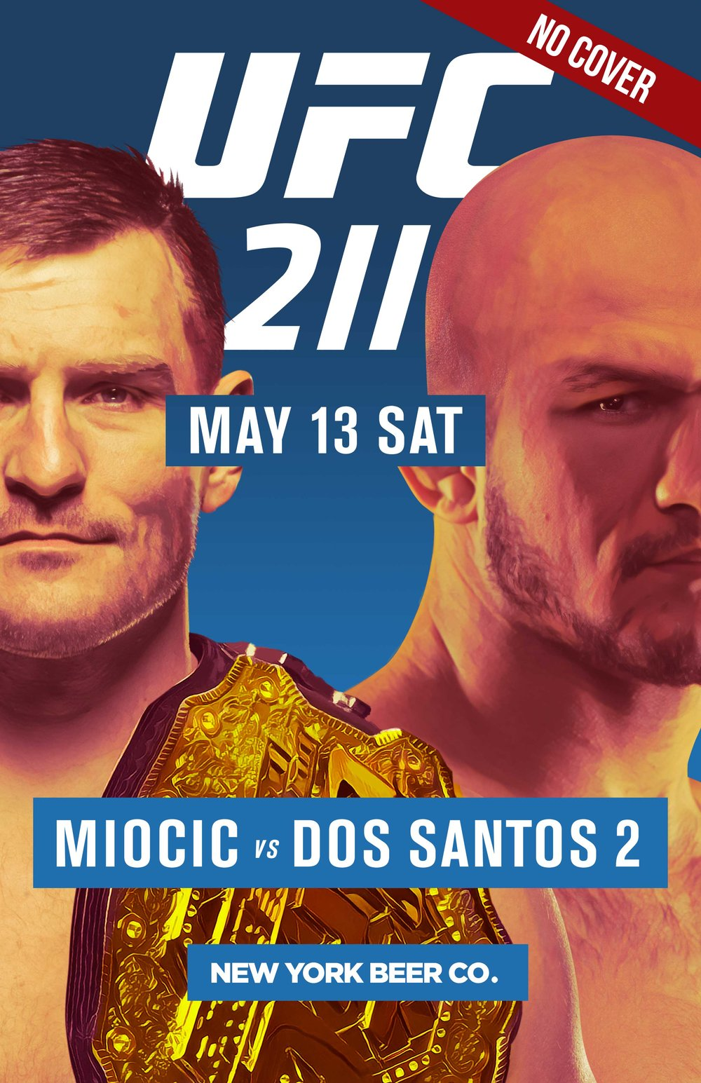 NYC bars UFC 211