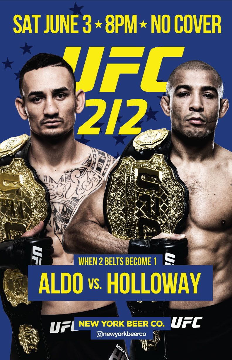 UFC 212 bars no cover nyc