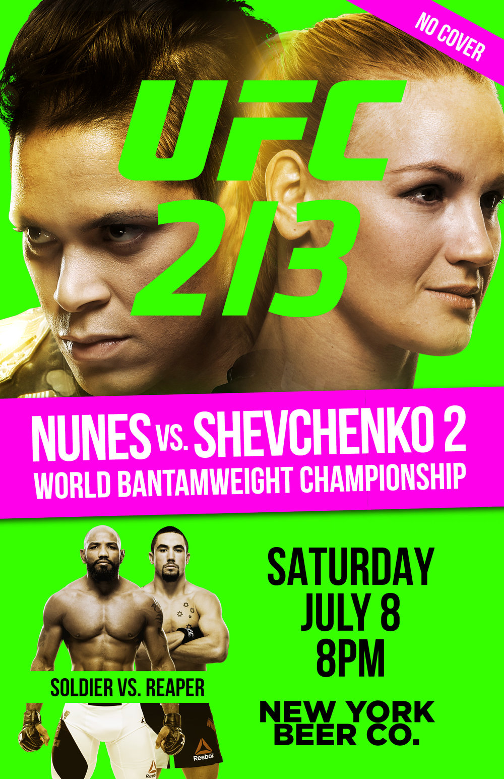 watch ufc 213 in nyc