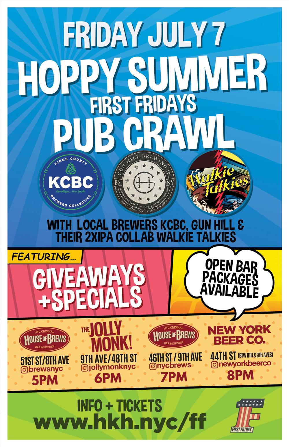 nyc pub crawls midtown/times square