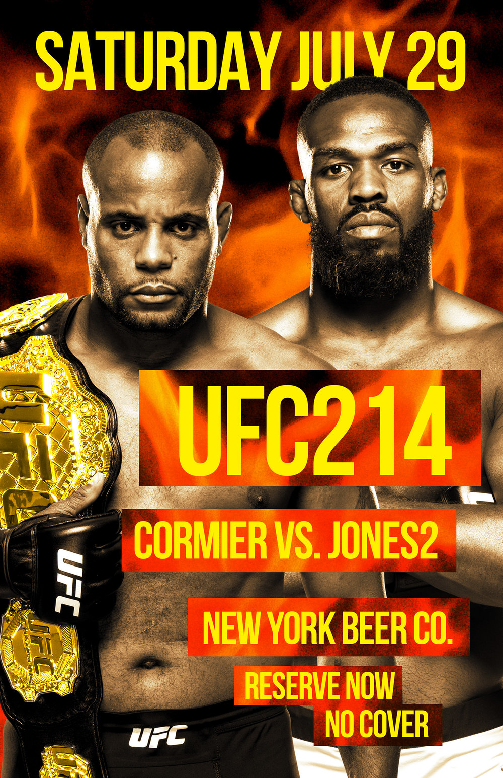 watch UFC 214 new york city free