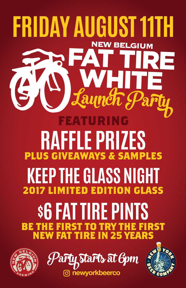 Fat Tire White Launch Party NYC