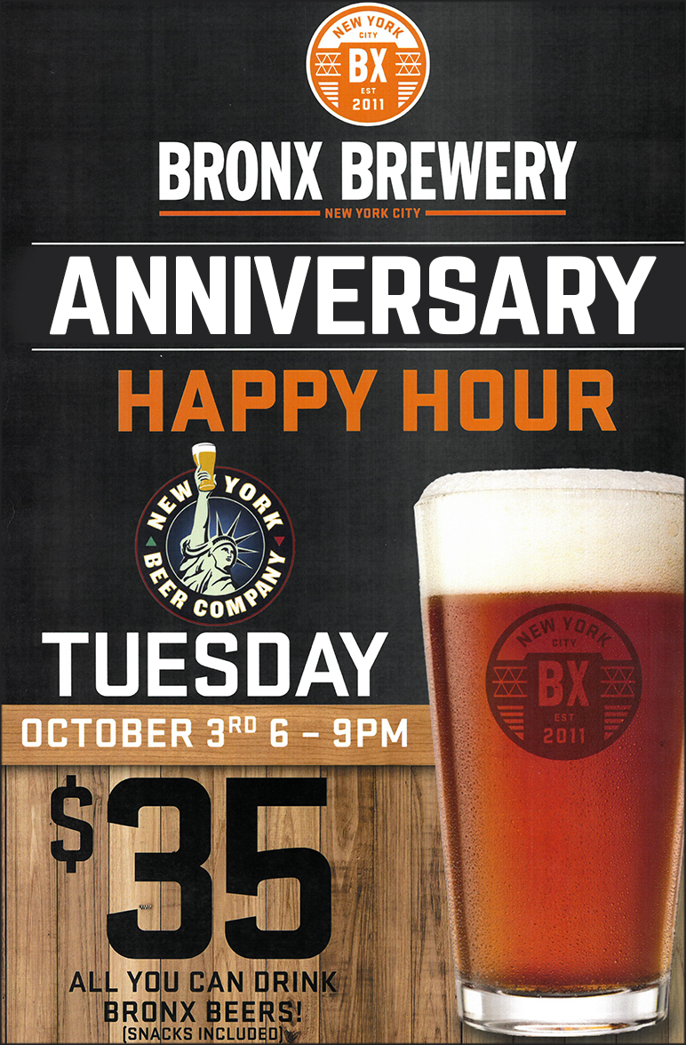 bronx brewery happy hour