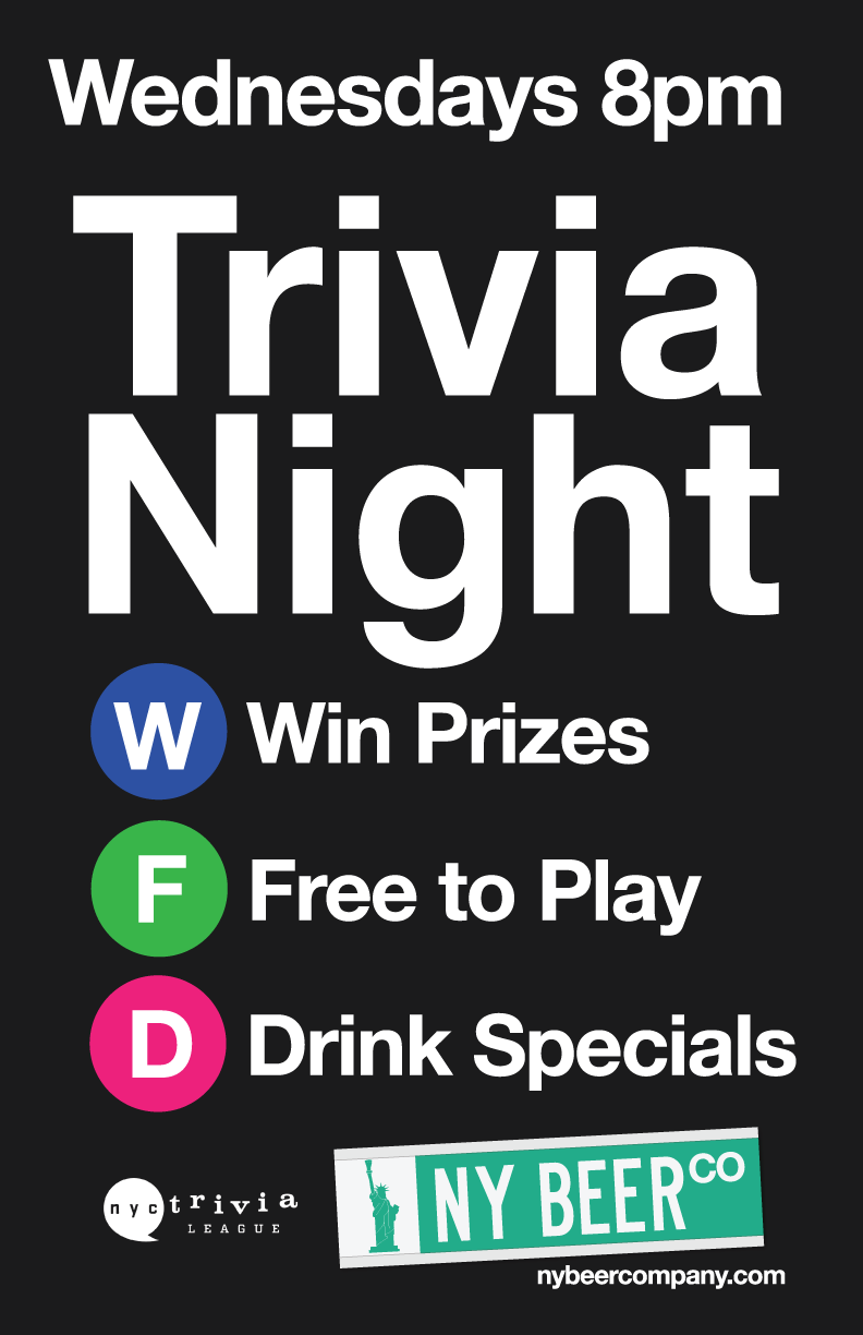 nyc trivia night free to play