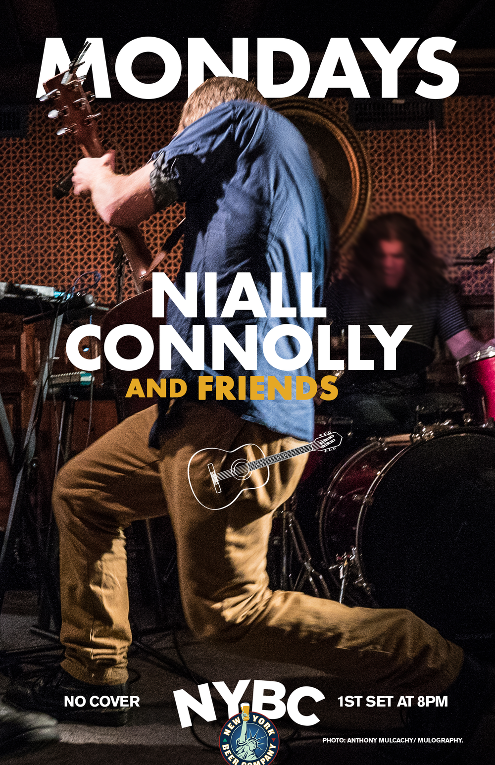 Niall Connolly - NYC - Monday Night Music