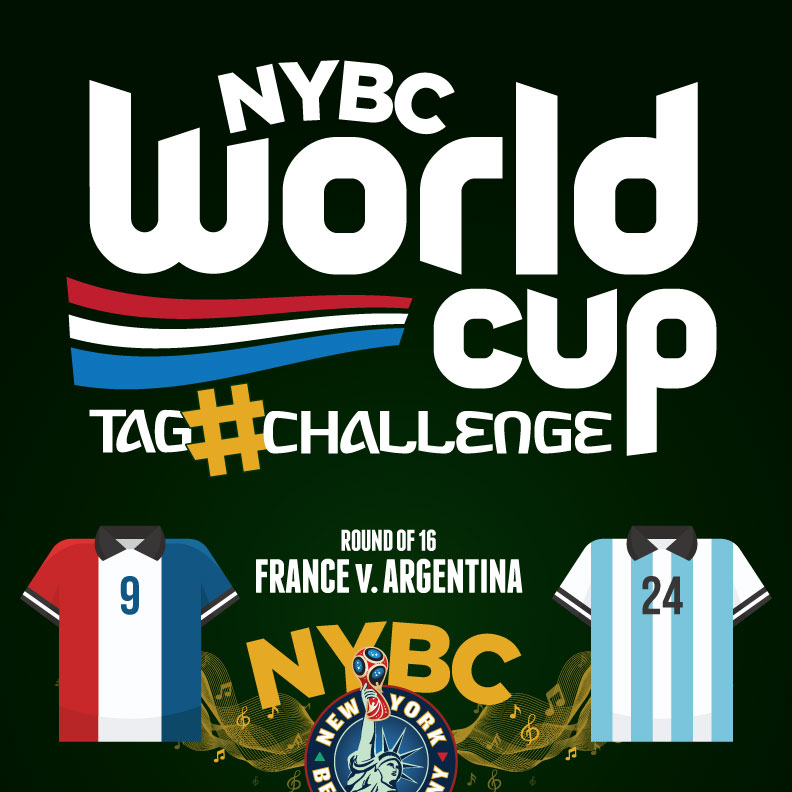 watch World Cup NYC Round 16 France vs. Argentina