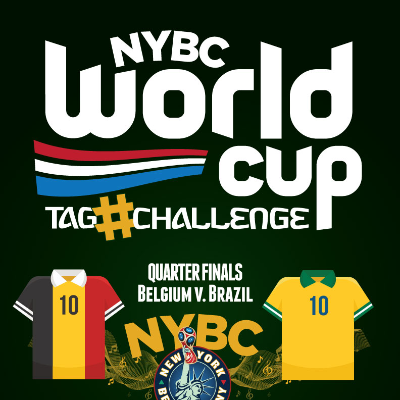 Watch World Cup NYC Quarter Finals - Brazil Belgium