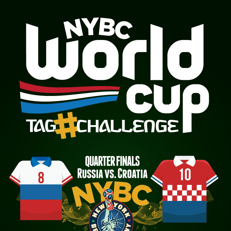 Watch World Cup NYC Quarter Finals RUS vs. CRO