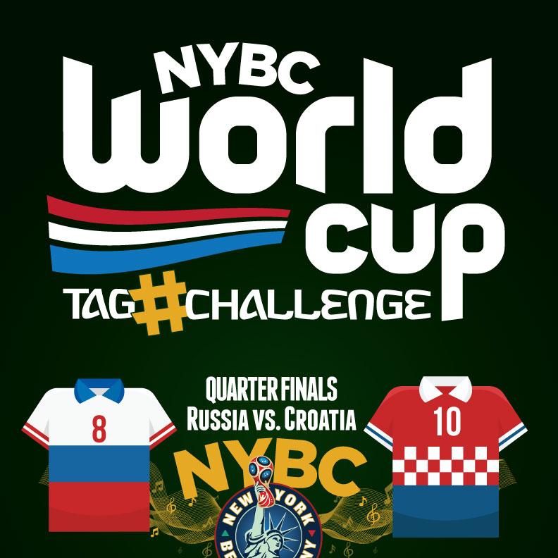 Watch World Cup NYC Quarter Finals RUS vs. CRO