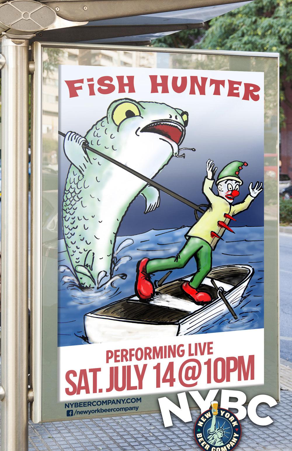 Fish Hunter band - Live MUSIC NYC