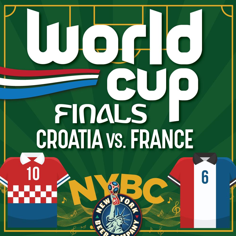 NYC BARS World Cup FINALS CROATIA vs. FRANCE